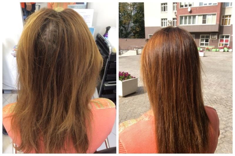 предпочитаю окрашивание волос куркумой фото до и после тратит много сил